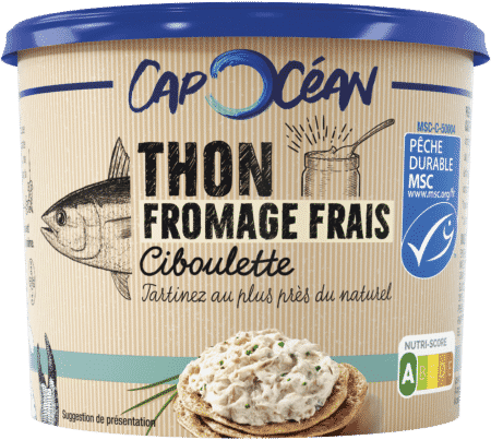 Thon MSC* Fromage Frais & Ciboulette