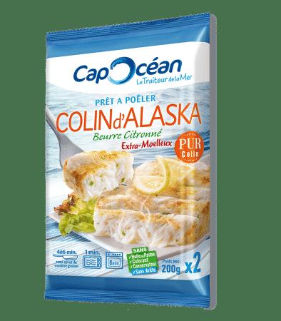 Prêt à poêler <br/>Colin d'Alaska beurre citronné