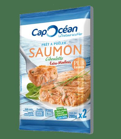 Prêt à poêler <br/>Saumon ciboulette