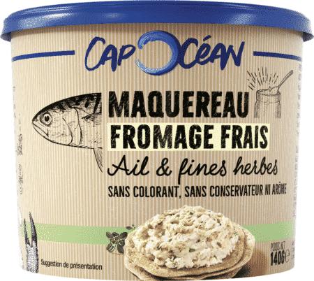 Maquereau Fromage Frais Ail & Fines Herbes
