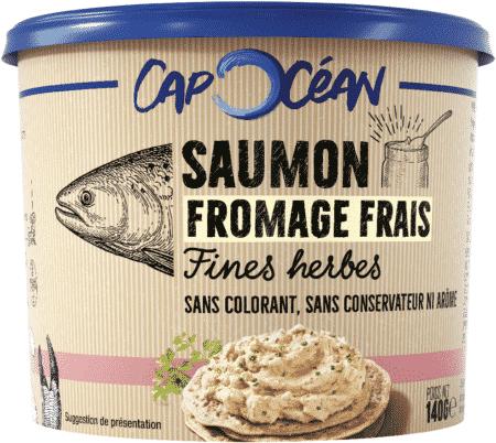 Saumon Fromage Frais & Fines Herbes