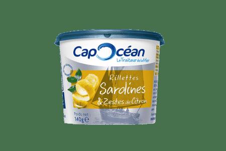 Rillettes de Sardines & Zestes de Citron