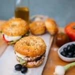 bagels de rillettes de thon aux olives