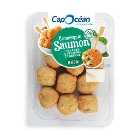 Cromesquis Saumon Épinards & Fromage de chèvre