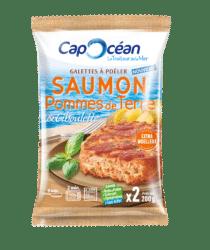 Galette à poêler <br/> Saumon Pommes de terre & Ciboulette