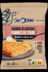 Galette à poêler <br/> Saumon Atlantique Pommes de terre & Ciboulette
